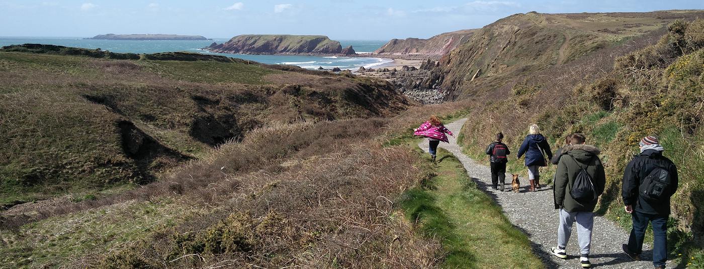 Fall in love with the Pembrokeshire coastal path.